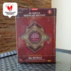 Alquran Hafalan Terjemah Al-Hufaz Tajwid Warna uk B6, Al-Quran Alhufaz