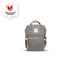 Mamas Choice Multi-Function Diaper Bag - Grey