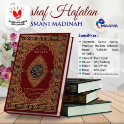 Alquran Hafalan Terjemah Tajwid Warna Utsmani Madinah, Al Quran usmani