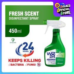WIZ 24 Disinfectant Spray & Clean - Fresh Scent 450 ML