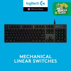 Logitech G512 RGB Mechanical Gaming Keyboard - GX Red Linear