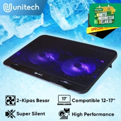 Notebook Cooler Coolingpad Kipas Pendingin Laptop Notebook Unitech N66
