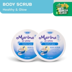 Marina UV White Healthy & Glow Body Scrub [2 pcs]