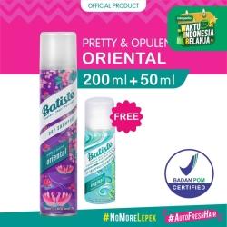 Batiste Pretty & Opulent Oriental Dry Shampoo 200ml FREE Batiste 50ML