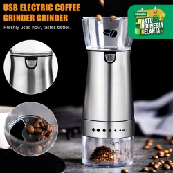 Usb Coffee grinder giling kopi portable electric batere rechargeable