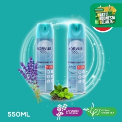 NORVUS Air Disinfectant Spray Aerosol 550ml - PROMO Bundling 2 LA & GT