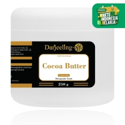 250g Cocoa Butter Unrefined Raw Cacao Butter Lemak Cokelat
