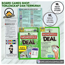 MONOPOLI DEAL HASBRO MONOPOLY Game Card Board Games NEW HASBRO GAMING