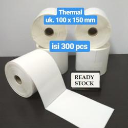 Kertas Label Barcode 100 x 150 Kertas Stiker Thermal 100x150mm isi 300