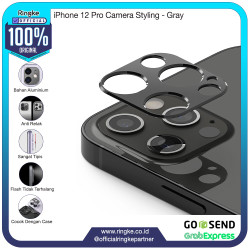 Ringke iPhone 12 mini 12 Pro Max Camera Styling Pelindung Kamera Metal