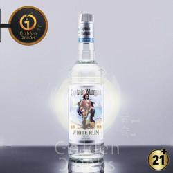 Captain Morgan White Rum 750 ml + Free Sloki