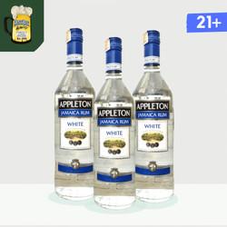 Appleton White Jamaica Rum 37.5% 750 ml