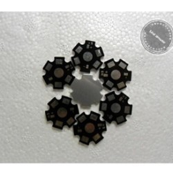 heat sink aluminium plat pendingin Chip led 1w 3w pcb heatsink 20mm