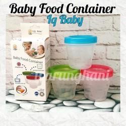 Baby food container iq baby | tempat mpasi | tempat asi
