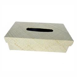 Box Tissue Anyaman Pandan Polos Kerajinan Khas Tasikmalaya Decoupage