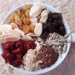 Healthy Granola Mixed B 500 gram ( Cranberry , Almond , Raisin , Oat )