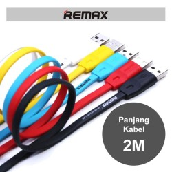 Remax Cable Full Speed 2m Micro Usb / Kabel Data High Speed Original R