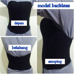 bustier backless