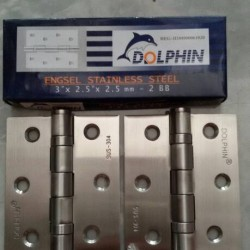 engsel jendela 3in stainless SUS 304 dolphin