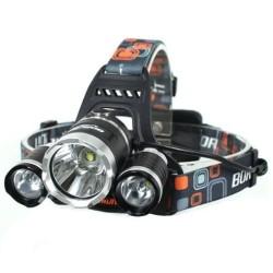 PAKET Headlamp Cree XM-L T6 5000 Lumens Senter Kepala 18650 + Charger