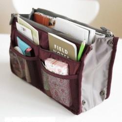 Dual Bag in Bag Organizer Korean Style Tas organizer dalam Tas