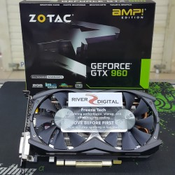 VGA Card Zotac GTX 960 AMP 2GB DDR5 128Bit / GTX960 AMP! 128 Bit