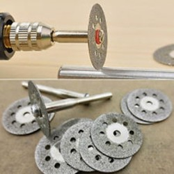 Diamond Cutting Wheel Mata Potong Diamond Mini Grinder Batu Logam