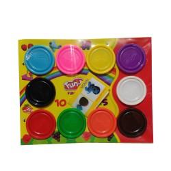 Fun Doh Refill 10pcs Lilin Mainan Edukasi Anak Murah