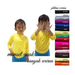 manset /baju dalaman busana muslim anak