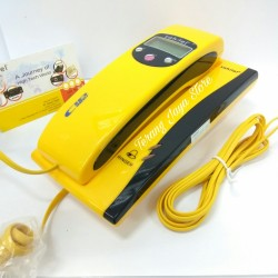 Telepon Kabel Sahitel S35 Pesawat Telepon Rumah Sahitel S-35 (Kuning)
