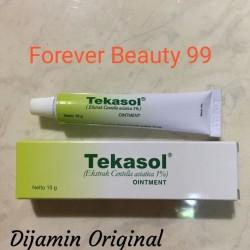 Tekasol Ointment 10 gr krim bekas luka / scar / keloid