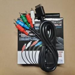 kabel 5 warna komponent komponen RCA AV playstation PS 2 3 PS2 PS3