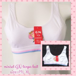 Miniset mini set anak remaja/ bra bh remaja golden nick