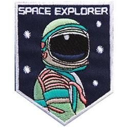 Iron Patch SPACE EXPROLER (Emblem) Ukuran L: 7cm , T: 9cm BIG !