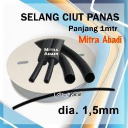 Selang Ciut/Selang Bakar Panjang 1 meter Diameter 1,5 mm