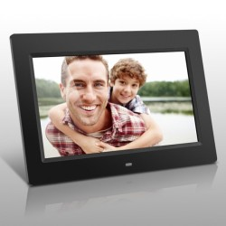 10 Inch Digital Photo Frame with LED lights High Resolution 1024 x 600