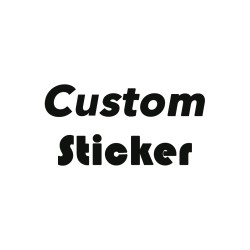 Custom Sticker / Stiker decal mobil laptop hp skin decor dinding