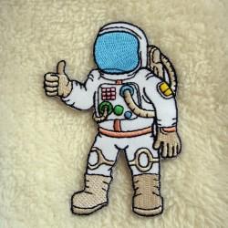 Iron Patch Astronots Ukuran L: 6cm T: 9cm