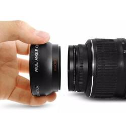 Rajawali Wide-Macro Converter Lens 55mm For Nikon, Sony