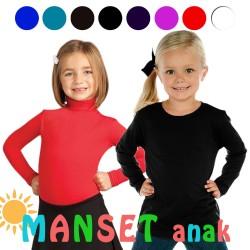 Manset Anak 4 - 8 tahun / Kids Long Sleeve Undershirt / Kaos Anak Leng