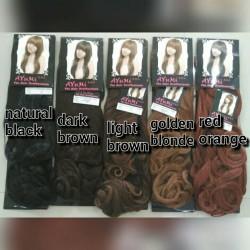 hairclip biglayer ayumi lurus / curly murah