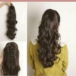 hairclip ponytail jepit korea murah