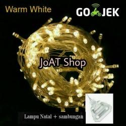 Tumblr. LED WW warmwhite warm white 10m lampu hias / dekor natal