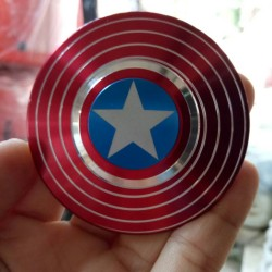 Hand Spinner CAPTAIN AMERICA/Fidget Spiner CAPTAIN AMERIKA