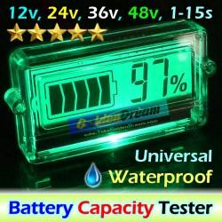 12v Battery Capacity Meter Tester Kapasitas Baterai Meter Accu Aki