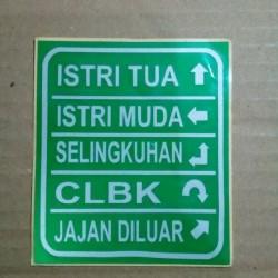 Jual Stiker Sticker Gambar Tempel Janda Semakin Di Depan Kab Bogor Karya Unik Cemerlang Tokopedia