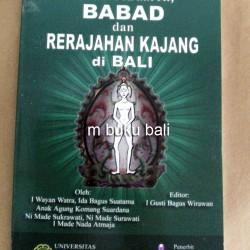 Bunga Rampai Babad dan Rerajahan Kajang di Bali - buku hindu