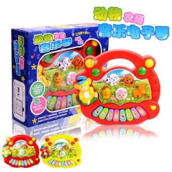 Mainan baby anakj Animal Farm Music Piano