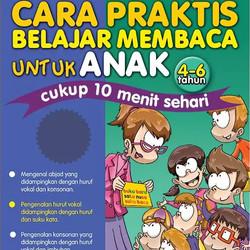 Abacaga; Cara Praktis Belajar Membaca Untuk Anak (4-6 Tahun)