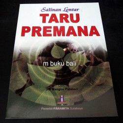 Salinan Lontar Taru Premana - buku bali hindu